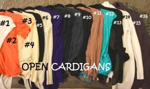 Open Cardigan